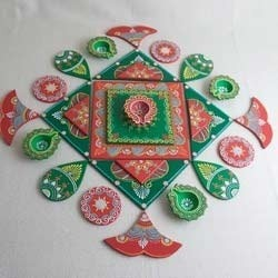 RANGOLI ( Wooden Rangoli)
