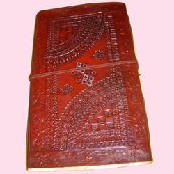 Leather Embossed Handmade Paper Journals