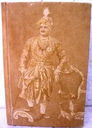 Handmade Paper Journals With The Print Of Maharaja Of Jaipur