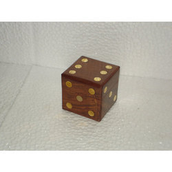 Wooden Dice Box