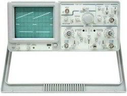 25Mhz Dual Trace Analog Oscilloscope
