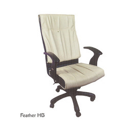 Feather High Back Chair