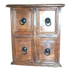 Iron Worked Chest of 4 Drawers