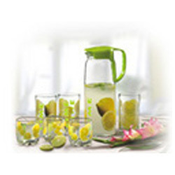Lemon Set of Glassware