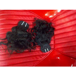 Weft Hair And Indian Human Hair