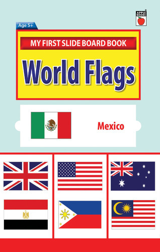 My First Slide Board Book - World Flags