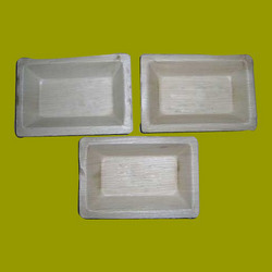 Rectangle Shaped Areca Leaf Plates