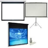 Projector Screen Bangalore - Grandview, Liberty, Logic Motorised, Tripod, Wall Mount Screen