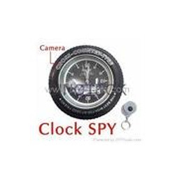 Spy Tyre Clock Camera