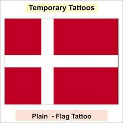 Plain Flag Tattoo