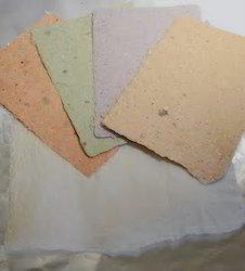 Deckle Edged Handmade Scrapbook Paper
