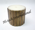bamboo tea light
