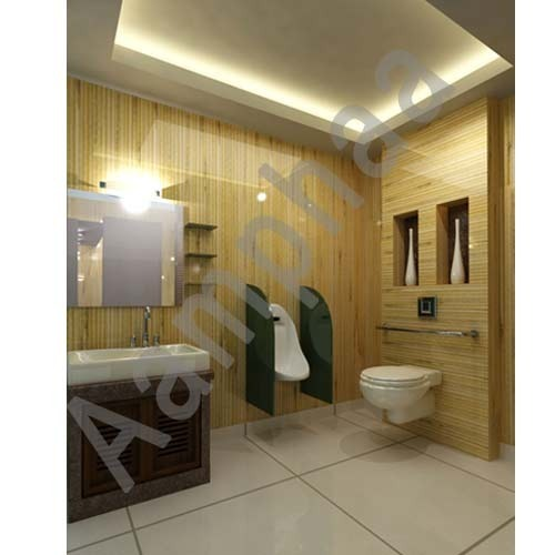 Bathroom Renovation Contractor Water Closet With Glass Partition