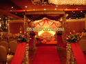 Indian Vivah Gold Dev Mandap Set