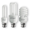 Spiral 20 & 23 Watt CFL Bulbs