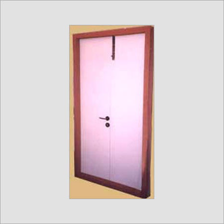 Double Shutter Flush Door