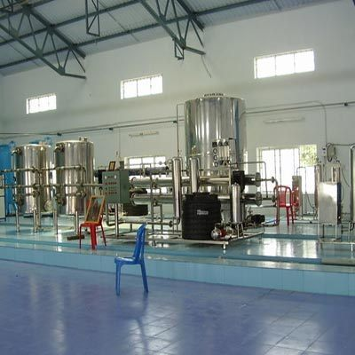 Mineral Water Filtration Plant