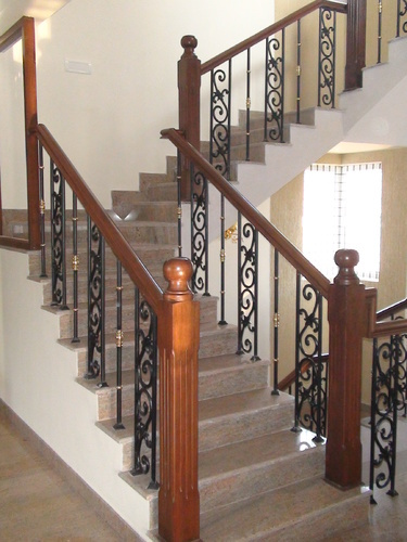 Cast Iron Stair Railings