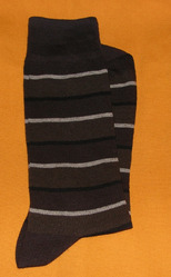 AOV /MN/ST/29 Men Stripe Socks