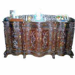Carved Bar Counter
