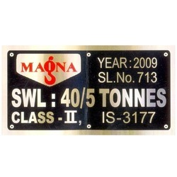 Engraved Metal Labels