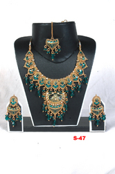 Fancy Jadau Necklace Sets