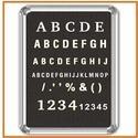 Fixograph Letter Pressing Boards