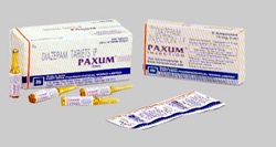 Paxum Tablets & Injection