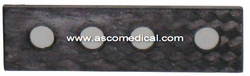 Carbon Connecting Plates (Short Adult)