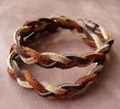 Suede Leather Cord Bracelet