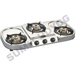Portable Three Burner Gas