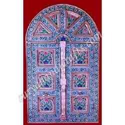 Indian White Metal Door