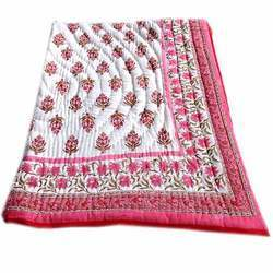 Queen Size Baby Cotton Quilt Pink
