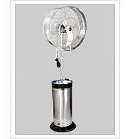 low pressure mist fan systems