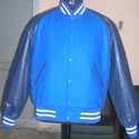 Blue Trendy Varsity Jacket