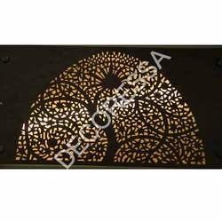 Copper Slate Veneer Jali Work 1