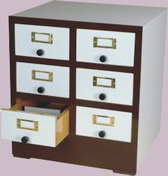 Reference Card Cabinet
