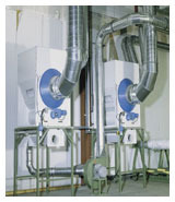 Humidification And Air Control Non Wovens Waste Seprator