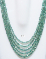 Emerald Bead Necklaces