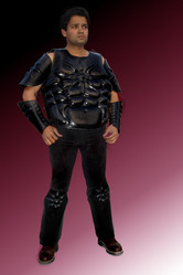 Leather Body Armour Set