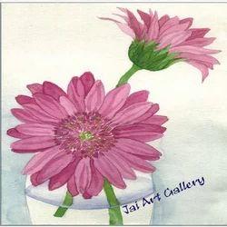 Pink+Flower+Canvas