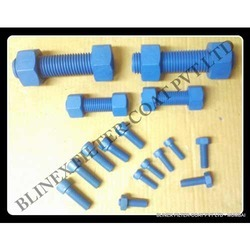 Fluoropolymer Coated Studs Bolts