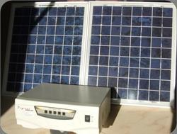 Solar Inverter  600 VA With Solar Panels 360 Watts