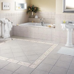 Vitrified / Ceramic Floor Tiling