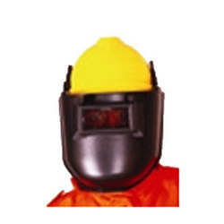 Vangard Industrial Safety Helmet With Welding Face Shield