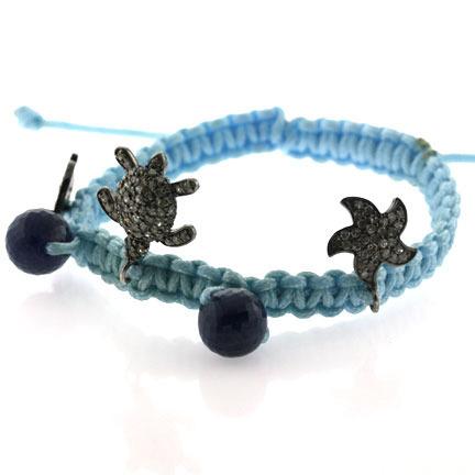 Diamond Charm Bracelet Jewelry