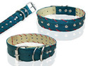 High Quility Hand Made Designing Layer Leather Dog Collar (l028c)