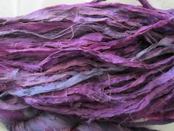 Sari Silk Ribbon In Plain Colors
