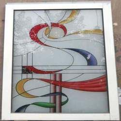 Color Etching Glass
