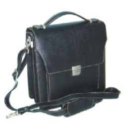 Black Leather Business Bag